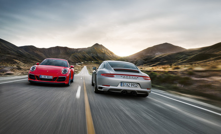911 Carrera GTS model range.