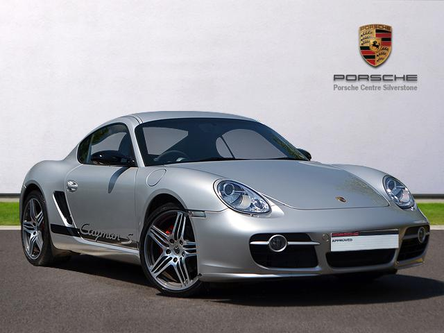 09(09) Porsche Cayman S Sport, Arctic Silver Metallic/Black sports leather seats/Partial leather, 17,316 miles