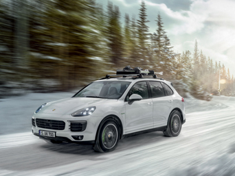 Winter wheels & tyres (cayenne)