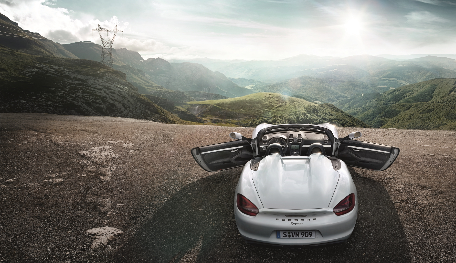 The new Boxster Spyder