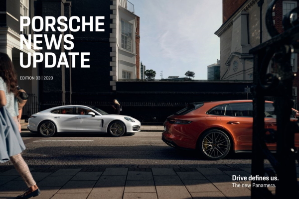 Porsche news update - Edition 3 2020