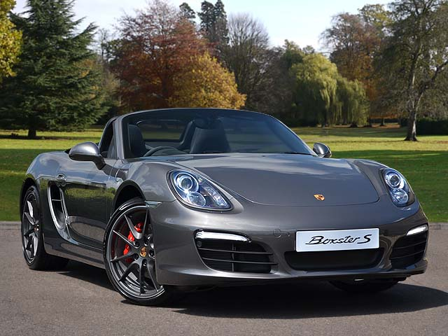 14(14) Boxster S PDK (981), Agate Grey/Black, 7,000 miles