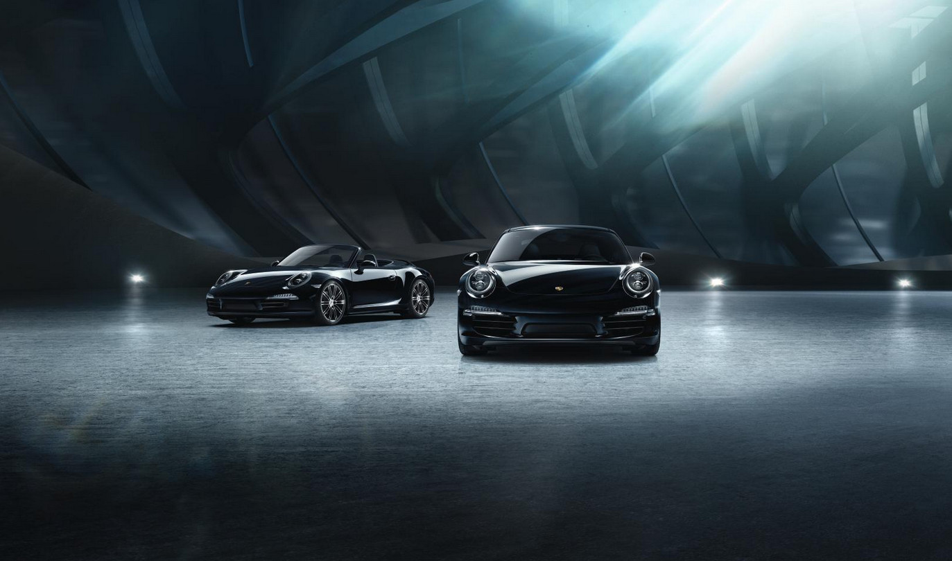 Black Ink - Porsche 911 Carrera Black Edition models