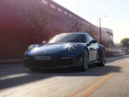 The new 911 Carrera 4S.