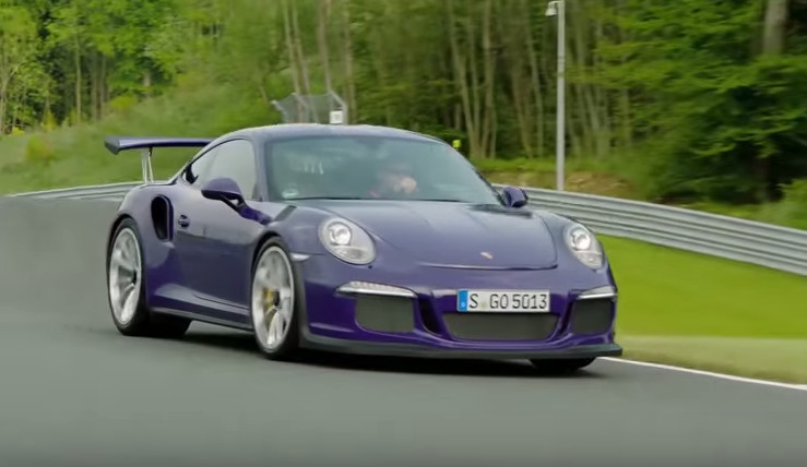 On the racetrack with the 911 GT3 RS