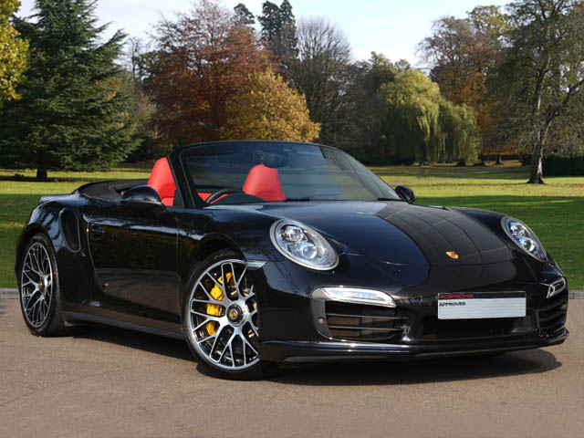14(14) 911 (991) Turbo S Cab, Basalt Black/Black/Garnet Red, 6,600 miles